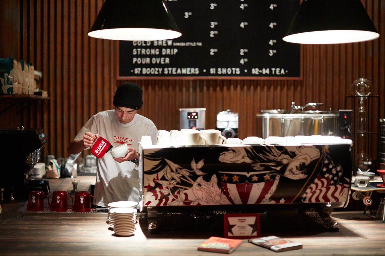 Au Cheval's Brendan Sodikoff opens coffee shop with Japanese latte artist